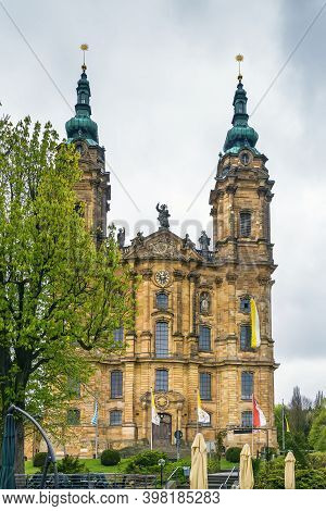 Basilica Of The Fourteen Holy Helpers, Germany.  The Late Baroque-rococo Basilica, Designed By Balth