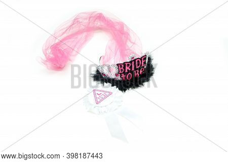 The Pink Headband With Text