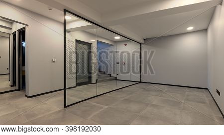 Interior Of An Empty And New Office Room.