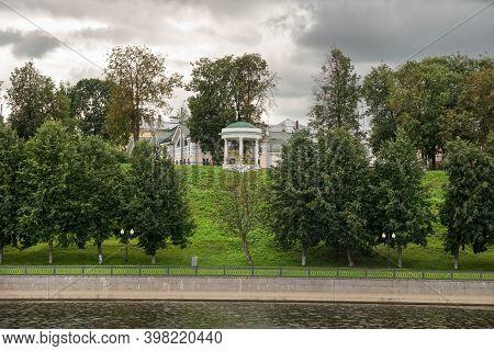 Governor's Pavilion (pavilion Of Love) On The Volzhskaya Embankment In Yaroslavl