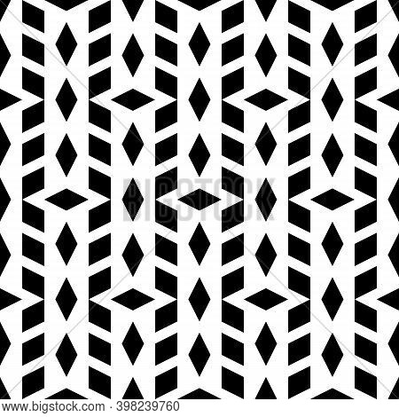 Ethnic Motif. Lozenges Wallpaper. Seamless Pattern.rhombuses Ornament. Diamonds Backdrop. Digital Pa