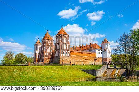 Grand View To Castle Of Mir, Minsk Region, Belarus
