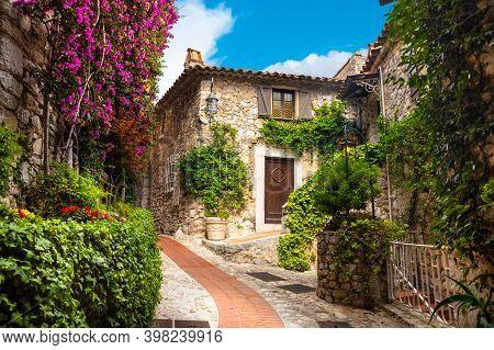 The Village Of Eze, Provence, Southern France