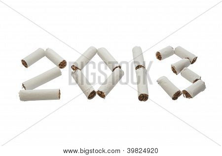 Start New 2013 Year Without Smoking!