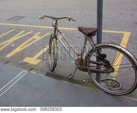 Parking Of Bikes Or Bicycles