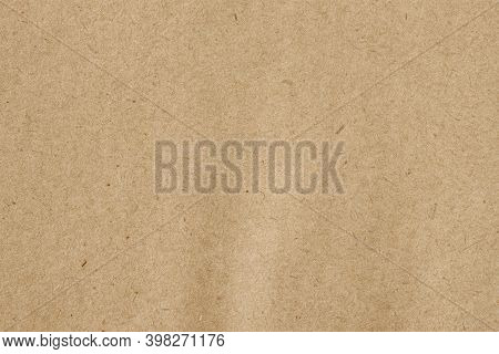 Paper Texture, Cardboard Background. Recyclable Material, Inclusions Of Cellulose