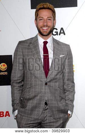 Zachary Levi LOS ANGELES - DEC 7:  Zachary Levi, Allison Haislip arrives to the Spike TV`S Video Game Awards 2012 at Sony Pictures Studios on December 7, 2012 in Culver City, CA