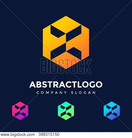 Initial Letter K Logo Design, K Letter Logo, Technology Company Concept And Idea K Logo, Data, Vecto