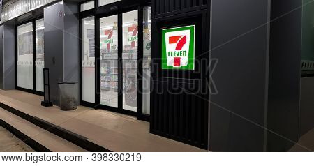 Patum Thani, Thailand - December 6'20 : 7-eleven Is An International Chain Of Convenience Stores Ope