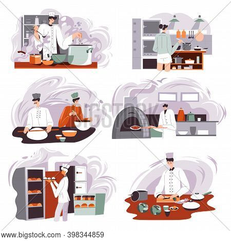 Bakery Shop Production, Restaurant Or Cafe Cook