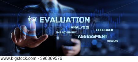 Evaluation Performance Quality Assessment Business Technology Internet Concept.
