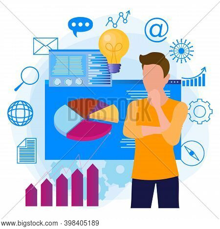 Business Intelligence, Analytics And Business Planning. An Abstract Metaphor For Data Management Sof