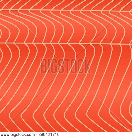 Vector Red Fish Background Or Texture