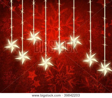 Christmas Grungy Background