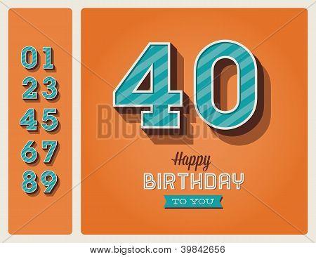 Birthday card editable