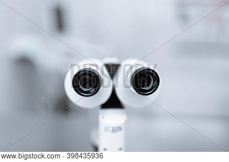 Medical Professional Ophthalmologist Equipment Device Slit Lamp