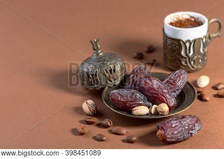 Traditional Dessert For Arabic Coffee.
