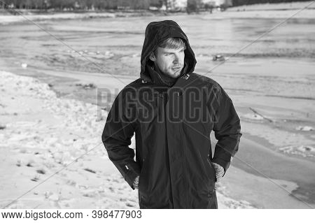 Winter Fishing. Safety Measures. Polar Explorer. Sunny Winter Day. Winter Menswear. Winter Outfit. C