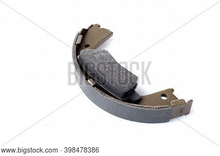 Two Kinds Asbestos Brake Pads For Disc And Brake Shoe For Drum Brakes, Replacement Spare Parts Of Th