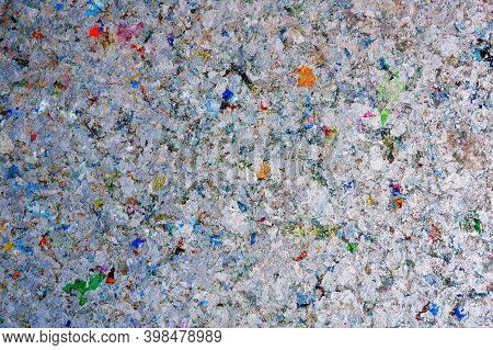 Abstract Texture And Multicolored Of Heat Resistant Gypsum Board Background Made Of Pasteurized Milk
