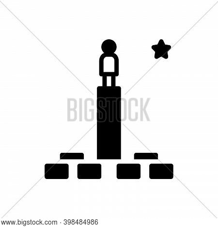 Black Solid Icon For Possibility Chance Likelihood Prospect Opportunity