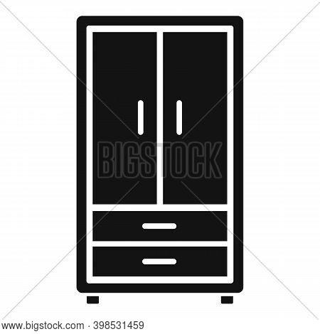Room Service Wardrobe Icon. Simple Illustration Of Room Service Wardrobe Vector Icon For Web Design