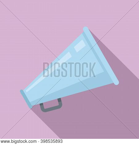 Stage Director Megaphone Icon. Flat Illustration Of Stage Director Megaphone Vector Icon For Web Des