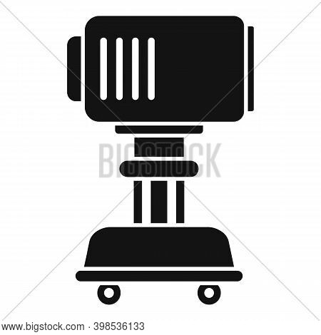 Stage Director Light Device Icon. Simple Illustration Of Stage Director Light Device Vector Icon For
