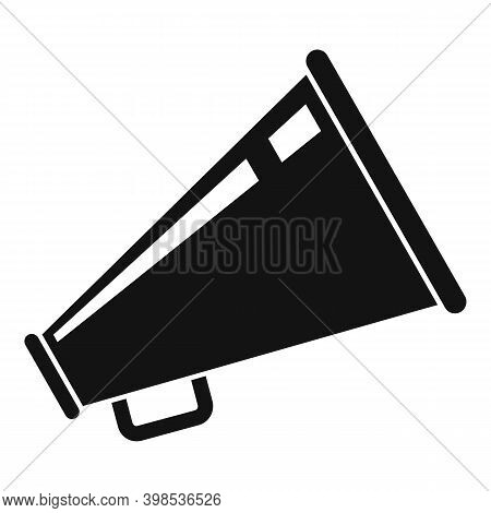 Stage Director Megaphone Icon. Simple Illustration Of Stage Director Megaphone Vector Icon For Web D