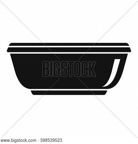 Cleaning Basin Icon. Simple Illustration Of Cleaning Basin Vector Icon For Web Design Isolated On Wh