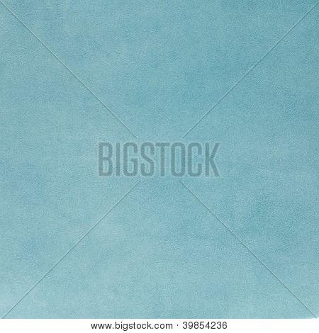 Blue Leather Texture Closeup