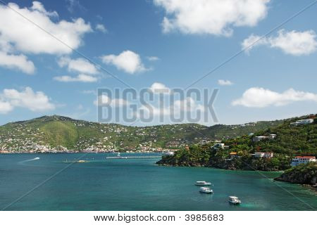 View Of Charlotte Amalie, St. Thomas