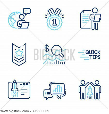 Education Icons Set. Included Icon As Education, Check Investment, Job Interview Signs. Shoulder Str