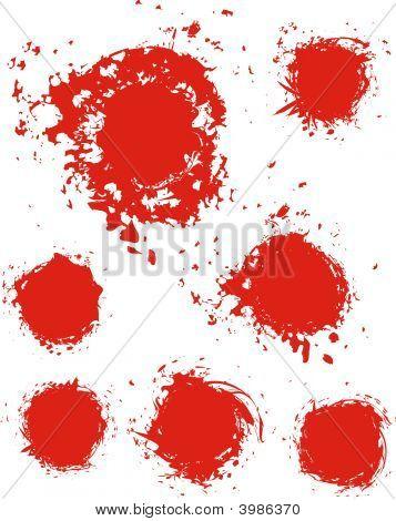 Grunge Ink Stain Texture