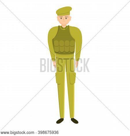 Defence Military Uniform Icon. Cartoon Of Defence Military Uniform Vector Icon For Web Design Isolat