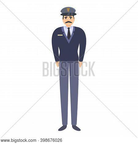 Police Military Uniform Icon. Cartoon Of Police Military Uniform Vector Icon For Web Design Isolated
