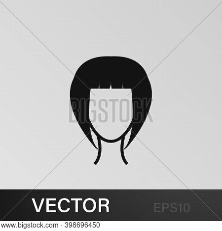 Female Hairstyle Icon.element Hairstyles Icon. Premium Quality Graphic Design. Signs, Symbols Collec