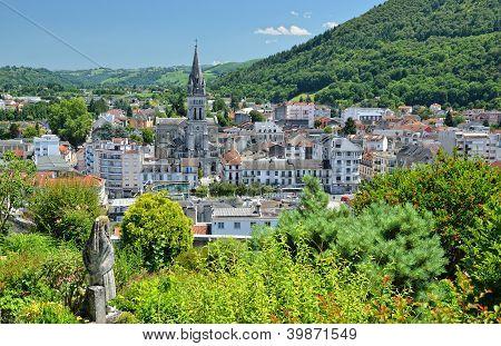Summer View Of Lourdes