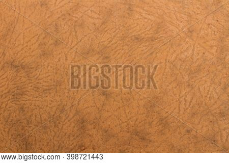 A Cardbord Texture With Wrinkles In A Close Up View