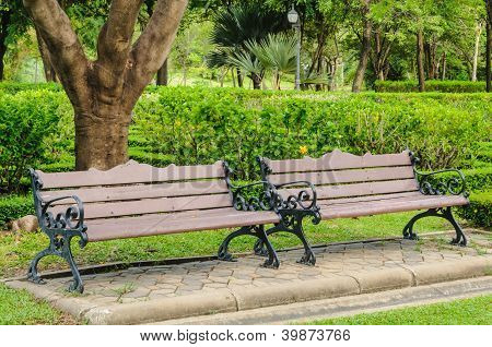Benches In The Park