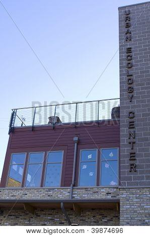 Urban Ecology Center Facade