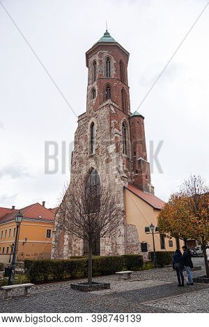 Budapest, Hungary - August 31, 2012: Tower Of Mary Magdalene On Buda Hill In Budapest.