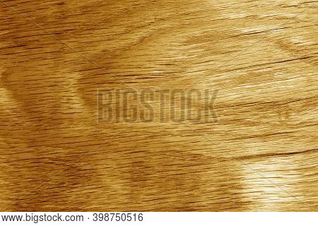Old Oak Board Texture As Background. Surface And Natural Pattern.