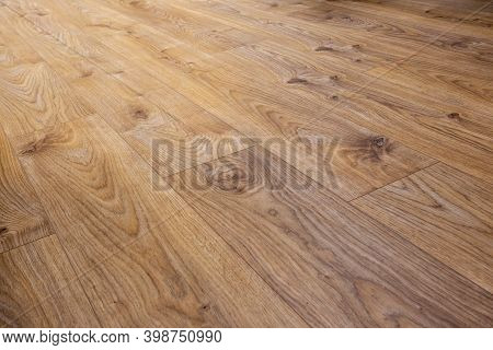 Vinyl Floor Detail, Oak Decor. Abstract Wooden Background
