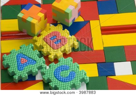Colorful Blocks And Alphabets