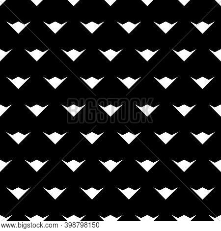 Seamless Pattern. Folk Image. Simple Shapes Backdrop. Figures Ornament. Ethnic Wallpaper. Forms Back