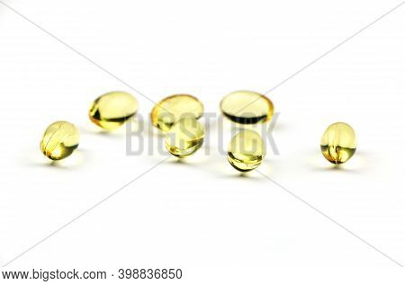 Close Up Food Supplement Oil Filled Capsules Suitable For: Fish Oil, Omega 3, Omega 6, Omega 9, Even
