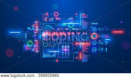 Banner About Programming Or Coding Course Neural Network And Artificial Intelligence Or Ai Online On