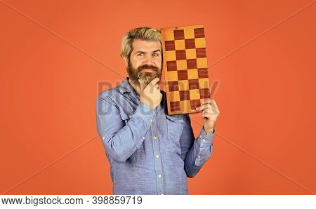 Hobby And Leisure. Intellectual Games. Chess Lesson. Teacher Chess Competition. Chess Figures. Game
