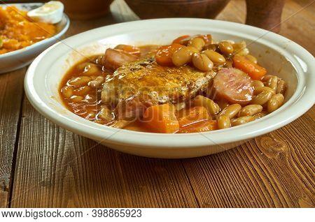 British Pork Cassoulet